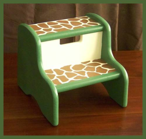 Jungle Print Stool!