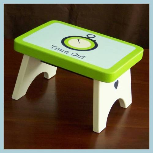 Time-out stool