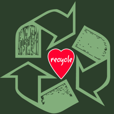 skysignal: hunsonisgroovy: Heart Recycling (via graphiceverywhere)