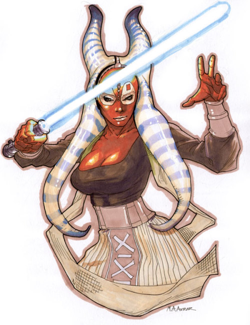 Shaak Ti by *anjum on deviantART