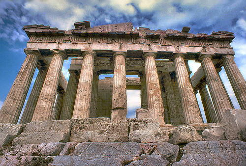 ATHENS, GREECE - Ruins of Time (via greekstifado - Yanni)