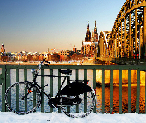 COLOGNE, GERMANY - Cold ride (via aremac)