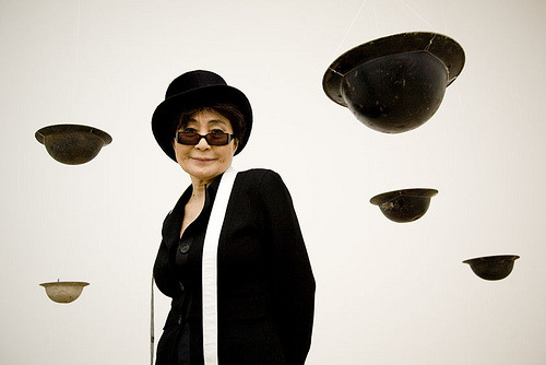 Yoko Ono at Baltic by Dan Brady I would kill to see her exhibition.