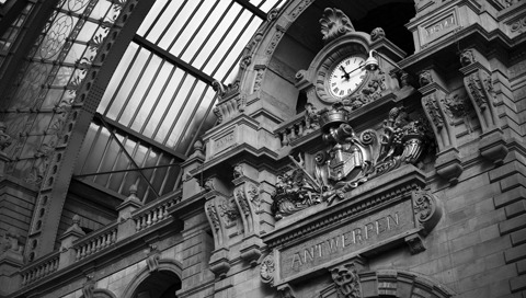 Antwerp Central Station, Antwerp, Belgium. (by Laurent)