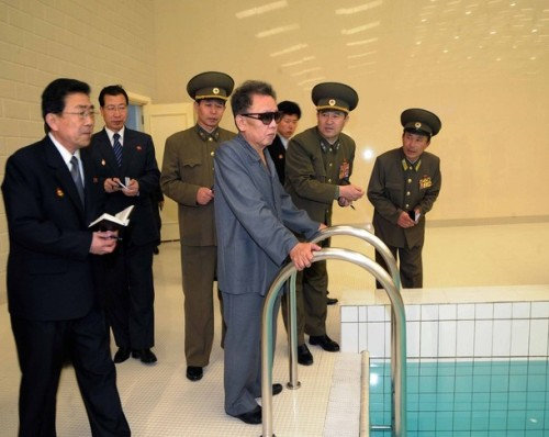 * picture released by North Korean news agency KCNA early March 20, 2009. KCNA did not state expressly the date when the picture was taken. indicativa. molto.