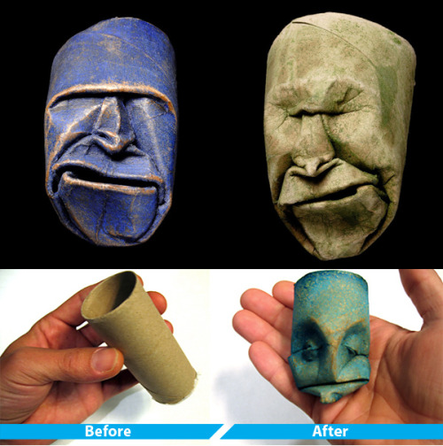 Practical? No. Amazing. Yes. Truly amazing. TOILET PAPER ROLL SCULPTURES @ LOUDreams | Your Social Toolkit