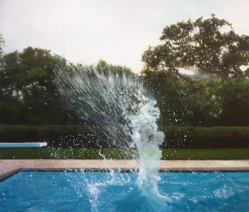 'Splash' a painting by Eric Zener