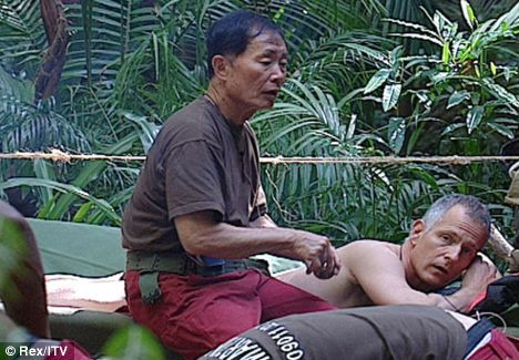 Paddick gets massage from George Takei as his boyfriend says, 'I'm not telling Brian off for anything he's done in the jungle' You've just got to love the UK press.  LOL