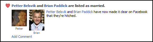 Brian Paddick got married yesterday. In related news: :-( But seriously, congrats to the happy couple!