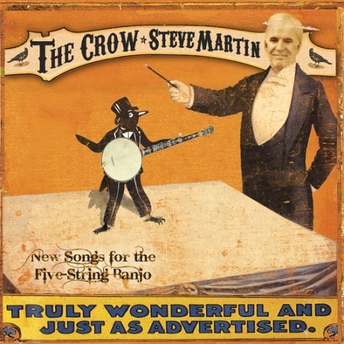 The wait is over!  Steve Martin's new banjo album, The Crow, is released today.