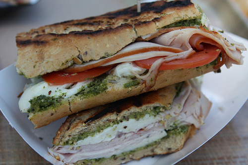 (via maribel rickard) Turkey panini