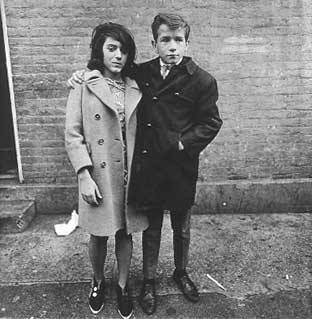 Diane Arbus.   Somedays she is the only one who can make me smile.