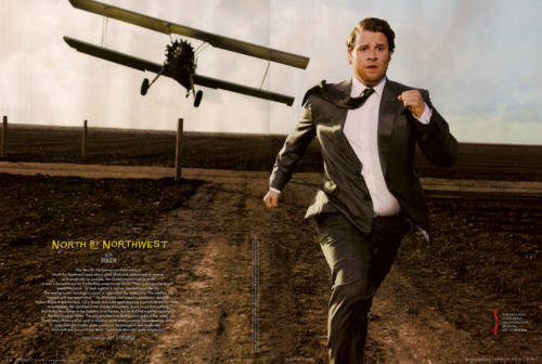 claudia:  Vanity Fair: The Hollywood Edition  (via ONTD) Love him!  This is really good.