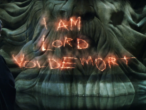 TOM MARVOLO RIDDLE -> I AM LORD VOLDEMORT