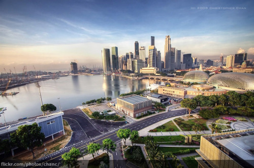 Marina Bay, Singapore via Christopher Chan