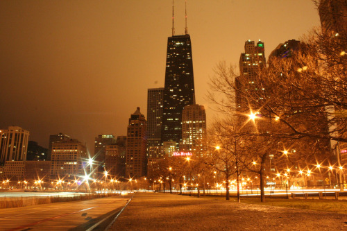 John Hancock Center, Chicago via .Ashkan