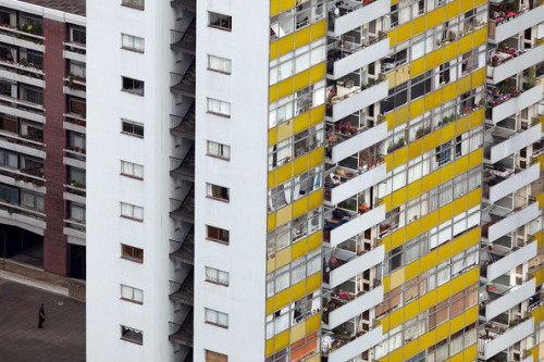 Views From The Barbican Estate On Its 40th Anniversary: Golden Lane. By Dan Kitwood/Getty Images Europe.