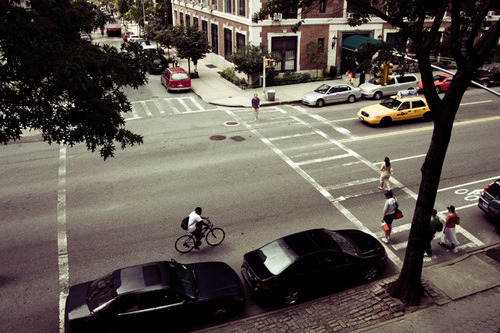 Some rules are made to be broken. Jaywalking is not one of them. (via ckck)