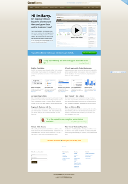 GoodBarry - eCommerce CMS with CRM, Email Marketing and Analytics