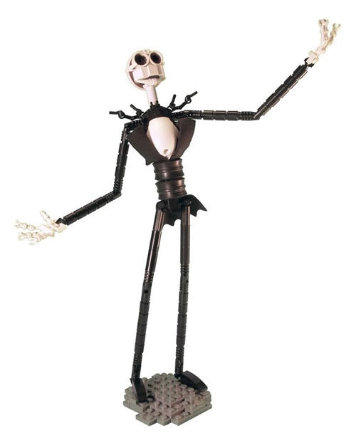 voristrip:  florencio: Jack Skellington in LEGO - Neatorama