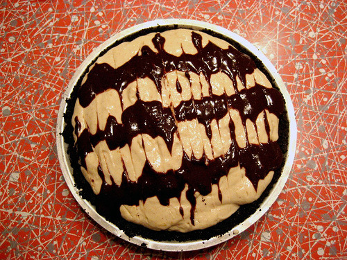 Vegan Peanut Butter Pie (via Deirdre Jean)
