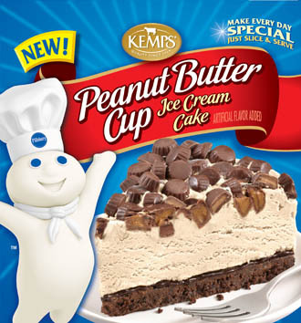 Pillsbury Peanut Butter Cup Ice Cream Cake