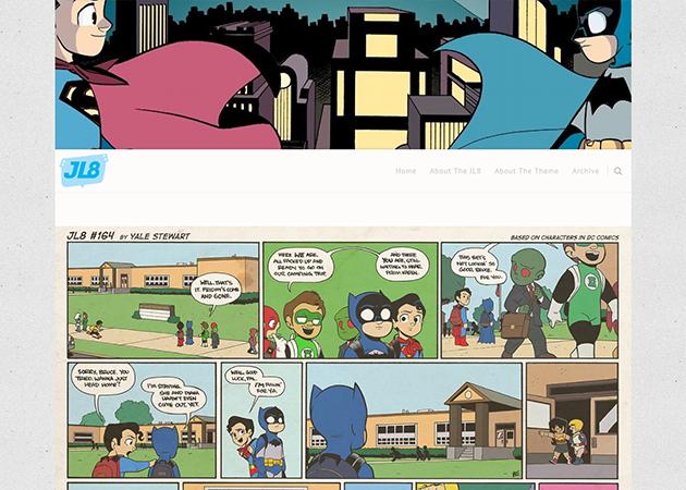 simple webcomic theme v4 tumblr