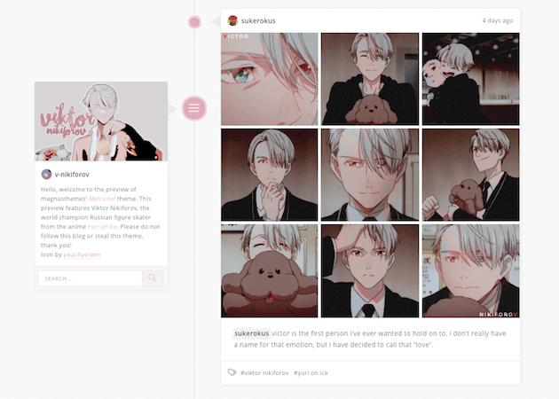 tumblr anime themes