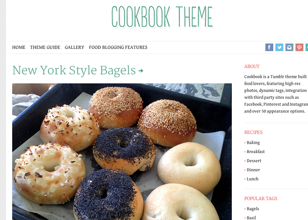 Cookbook tumblr themes forumfinder Image collections