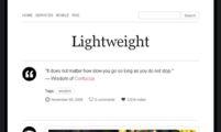 Tema para Tumblr Lightweight