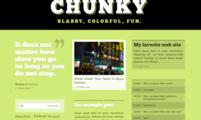 Tema para Tumblr Chunky