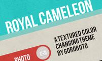 Tema para Tumblr Royal Cameleon
