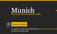Tema para Tumblr Munich