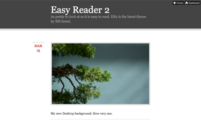 Tema para Tumblr Easy Reader 2
