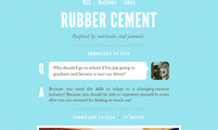 Tema para Tumblr Rubber Cement