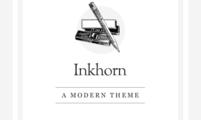 Tema para Tumblr Inkhorn