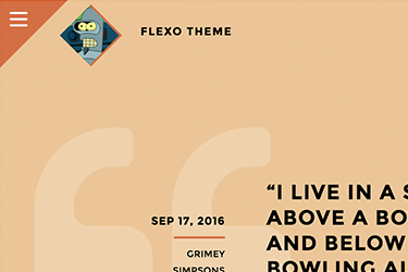 Flexo Theme