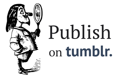Publish on Tumblr