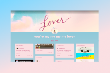 Taylor Swift Lover Theme