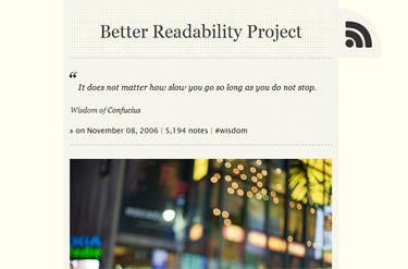 Better Readability Project 1.1