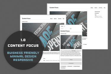 Content Focus (minimal)
