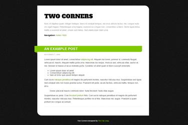 Two Corners