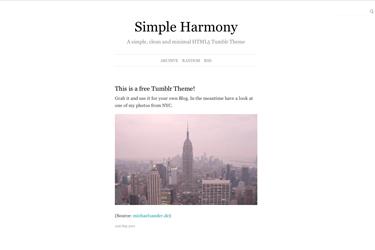 Simple Harmony 2.1