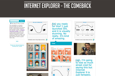 Internet Explorer - The Comeback