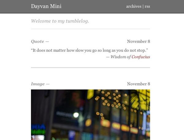 Dayvan Mini