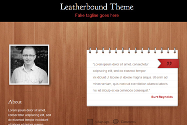 Leatherbound Theme