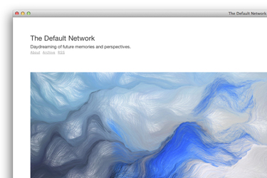 The Default Network