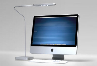 Highwire is a LED desk lamp which for the first time emits enough light for practical use. Generally a desktop work area needs around 300-700 lux of light in order to be able to work comfortably. Highwire produces more than 1,000 Lux. However, Highwire is not only the brightest LED desk lamp but also has an incredibly long life span. It keeps 70% of its original light output even after 50,000 hours. The color emitted by Highwire matches the color of a computer display therefore, the display is not distorted. The light coming from Highwire does not include infrared rays and so emits less heat. Furthermore, Highwire is equipped with a slow start and stop mechanism in which the light gradually brightens when turned on and dims when turned off. Please see for yourself how Highwire's LED technology and epoch design make it the next generation in lighting.