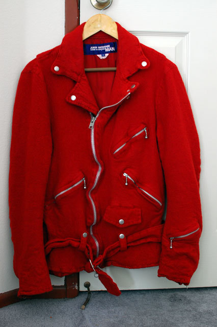 Junya Watanabe Fall 2007 boiled wool perfecto I need you in my life, baby.