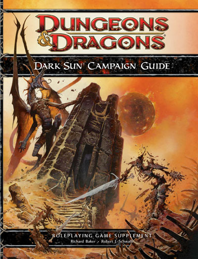 Dark Sun Returns!  More than a little bit surprising, eh?